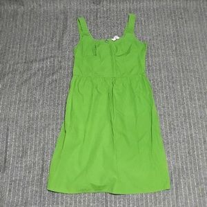 Lime Green Sleeveless Sundress